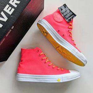 Converse CTAS Hi Racer Pink/Fresh Yellow/White